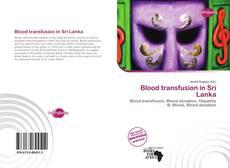 Blood transfusion in Sri Lanka的封面