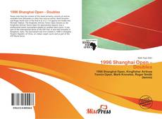 Bookcover of 1996 Shanghai Open – Doubles