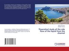 Bookcover of Theoretical study of the side flow of the liquid from the channel