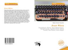 Bookcover of Arun Mitra