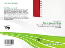Bookcover of Abdul Mannan Syed