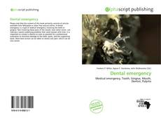 Bookcover of Dental emergency