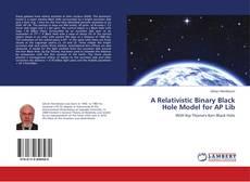 Capa do livro de A Relativistic Binary Black Hole Model for AP Lib