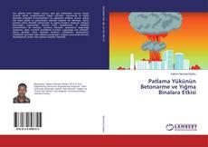 Portada del libro de Patlama Yükünün Betonarme ve Yığma Binalara Etkisi