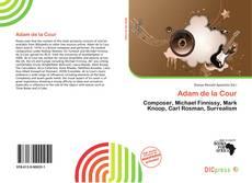 Bookcover of Adam de la Cour