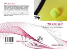 Bookcover of 1998 Qatar Open
