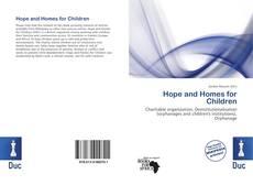 Capa do livro de Hope and Homes for Children