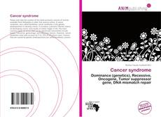 Bookcover of Cancer syndrome