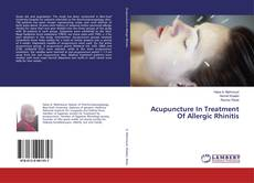 Bookcover of Acupuncture In Treatment Of Allergic Rhinitis