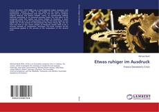 Bookcover of Etwas ruhiger im Ausdruck