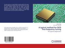 Copertina di A typical method for DCO fine-frequency tuning