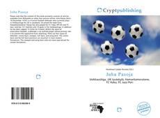 Juha Pasoja kitap kapağı