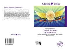 Bookcover of Dmitri Smirnov (Composer)