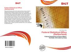 Bookcover of Federal Statistical Office (Switzerland)