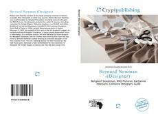 Capa do livro de Bernard Newman (Designer)