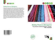 Capa do livro de Bobby Pearce (Designer)