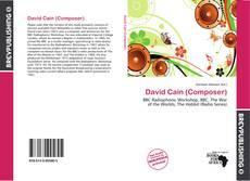 Bookcover of David Cain (Composer)
