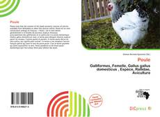 Bookcover of Poule