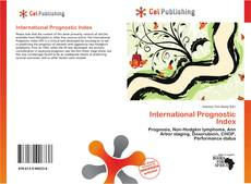 Bookcover of International Prognostic Index