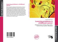 Buchcover von Learning problems in childhood cancer