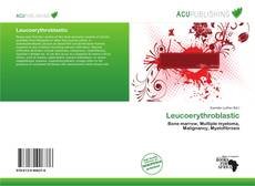 Bookcover of Leucoerythroblastic