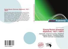 Bookcover of Georg Rosen (German diplomat, 1821–1891)