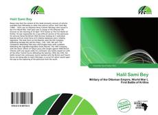 Bookcover of Halil Sami Bey