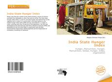 Bookcover of India State Hunger Index
