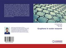 Bookcover of Graphene in water research