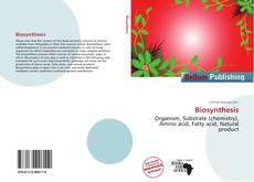 Biosynthesis kitap kapağı