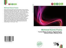 Capa do livro de Mehmed Namık Pasha