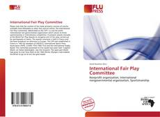 International Fair Play Committee kitap kapağı