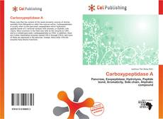 Bookcover of Carboxypeptidase A