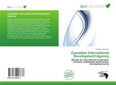 Buchcover von Canadian International Development Agency