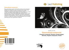 Bookcover of Generalised compound