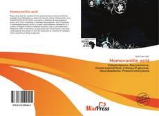Copertina di Homovanillic acid