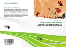 Buchcover von Iron–sulfur world theory