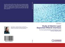 Capa do livro de Study of Atomic Layer Deposited HfO2/Si Interfaces