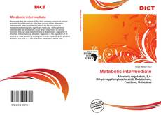 Bookcover of Metabolic intermediate