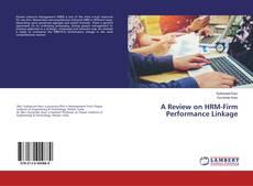 Borítókép a  A Review on HRM-Firm Performance Linkage - hoz