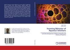 Foaming Behavior of Aqueous Solutions kitap kapağı