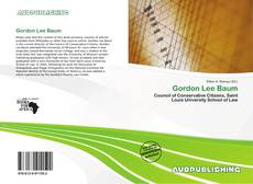 Bookcover of Gordon Lee Baum