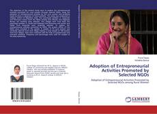 Couverture de Adoption of Entrepreneurial Activities Promoted by Selected NGOs