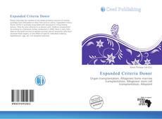 Copertina di Expanded Criteria Donor