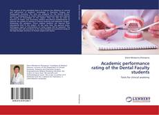 Copertina di Academic performance rating of the Dental Faculty students