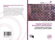 Bookcover of Capital University of Economics and Business