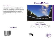 Bookcover of César Obando
