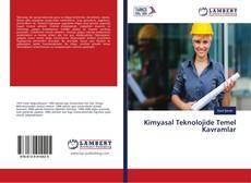 Couverture de Kimyasal Teknolojide Temel Kavramlar