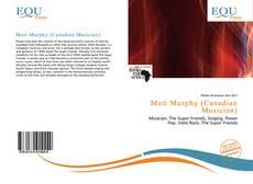 Portada del libro de Matt Murphy (Canadian Musician)