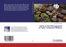 Portada del libro de Herbs in the Management of Type 2 Diabetes Mellitus